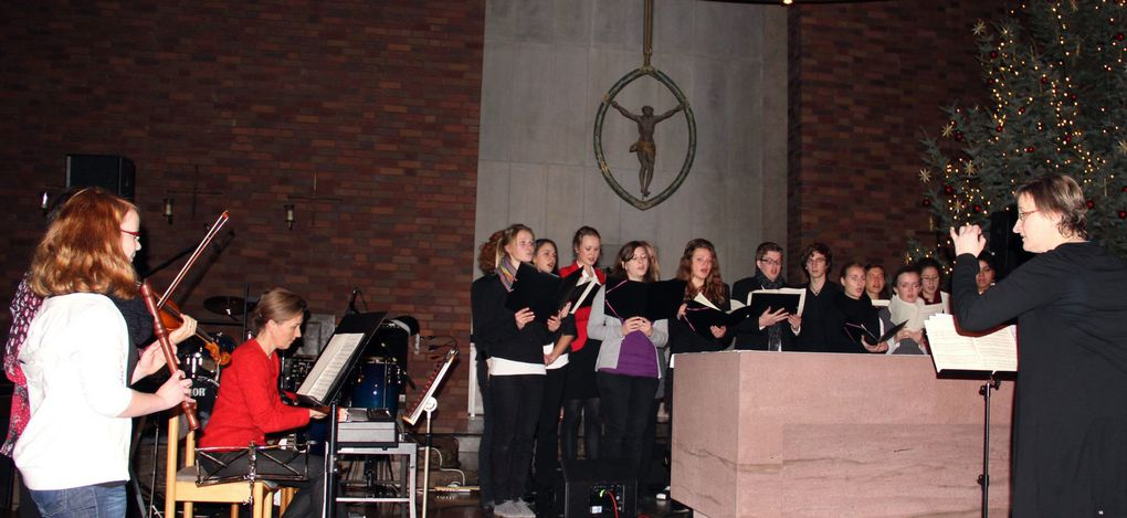 Album - Weihnachtskonzert Gymnasium 2011 Kuratiekirche