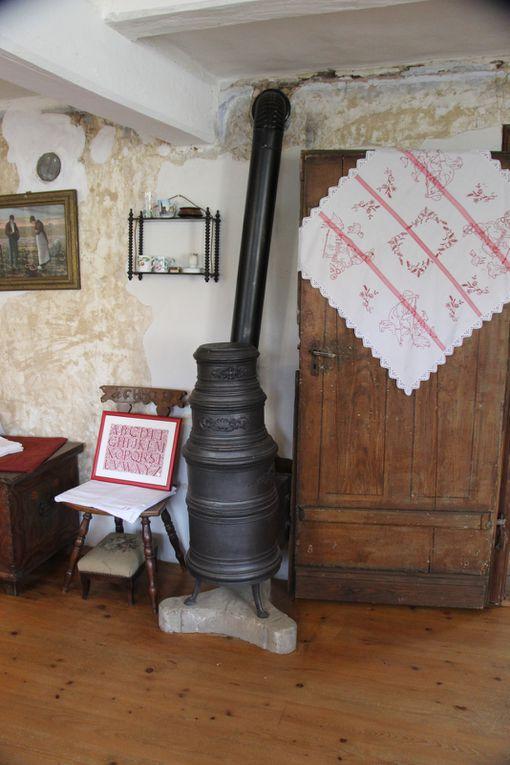 """Exposition """"Rouge Passion"""", la maison de l'Outre-Forêt et mes achats"""