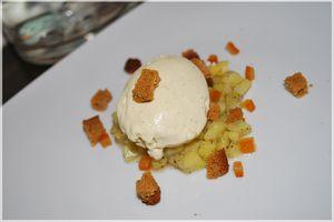 Fond d'Artichaut à la Vanille, Calisson, Pain d'épices aux Oranges Confites By Gontran Cherrier