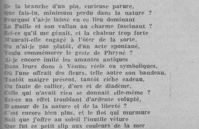 """1ère journée du Minimum : Lecture du poème Un """"Minimum"""" d'Henry Legrand"""