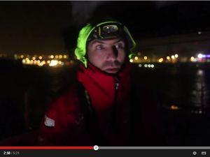 Route du Rhum - interview vidéo de Tanguy de Lamotte, en avarie de safran