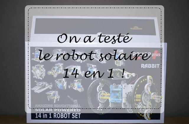 On a testé le robot solaire 14 en 1 !