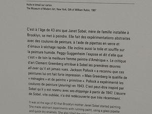 """Expo """"ELLES font l'ABSTRACTION"""" au centre POMPIDOU - 2ème partie"""