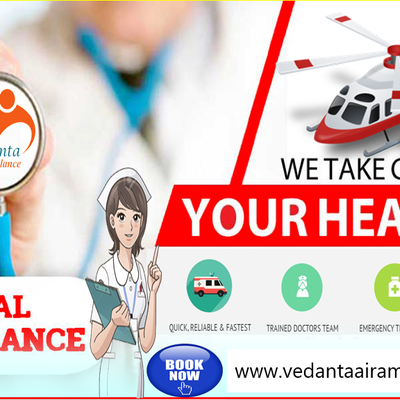 Air Ambulance Service in Bangalore – Vedanta Gives Complete Facilities in Low Cost