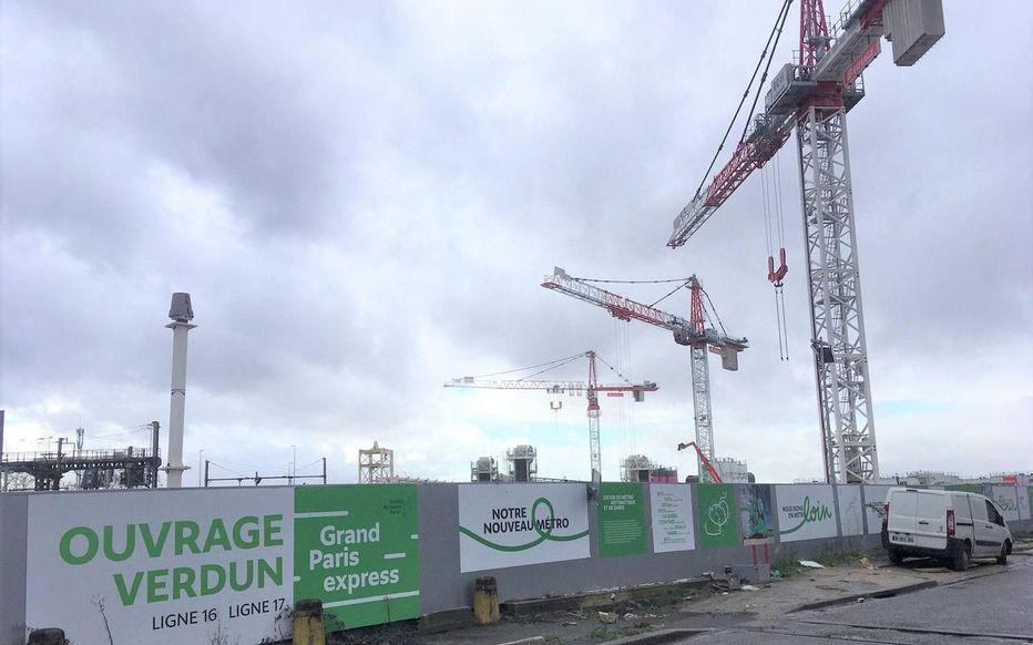 Mort d'un ouvrier sur le chantier de la ligne 16 du Grand Paris Express passant par Aulnay-sous-Bois
