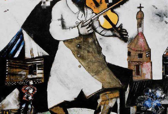 le violon de Chagall