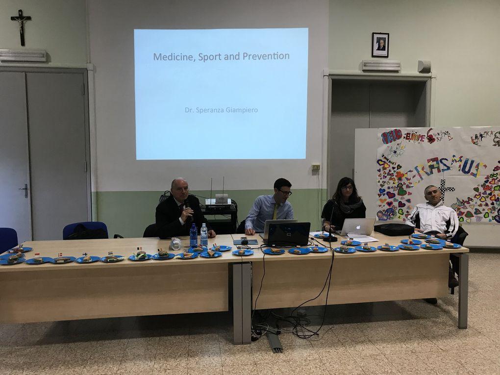 Congrès en Italie très riche en emotions et activités