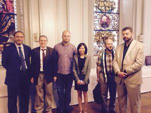 La délégation arrive à Metz : réception par M le Maire