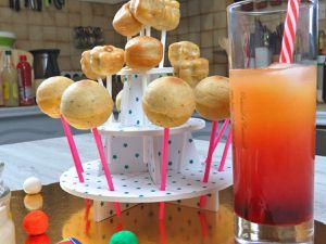 Recette - Cuisine - 2020 - 2019 - Saint Sylvestre - Pop Cake - Truite - Fomage - Chantaco - Cocktail - Sans alcool