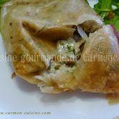Croustillant à la tomme de brebis - Cuisine gourmande de Carmencita