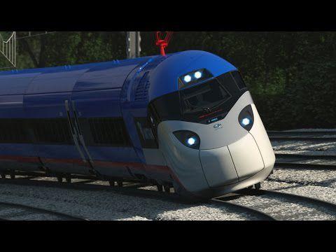 La prochaine génération de trains à grande vitesse AMTRAK