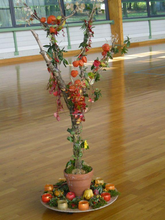 photos de mandalas et de scènes de danses prises au cours des rencontres
