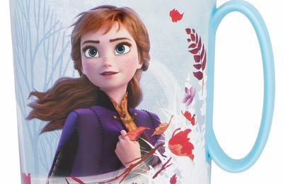 Mug en plastique la reine des neiges