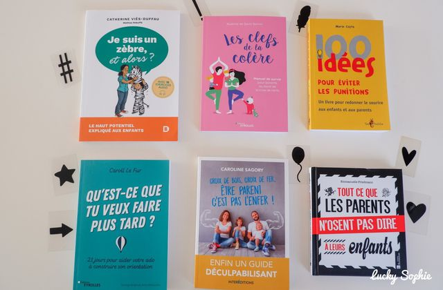 Punitions, colère, Haut potentiel, orientation : 6 guides pour les parents
