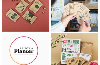 La Box à Planter + concours  🌲 The Box to Plant + giveaway