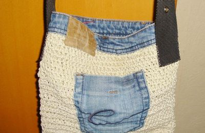 Upcycling-Tasche