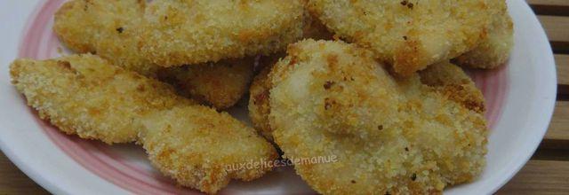 Chicken nuggets au four