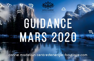 Guidances du mois de Mars