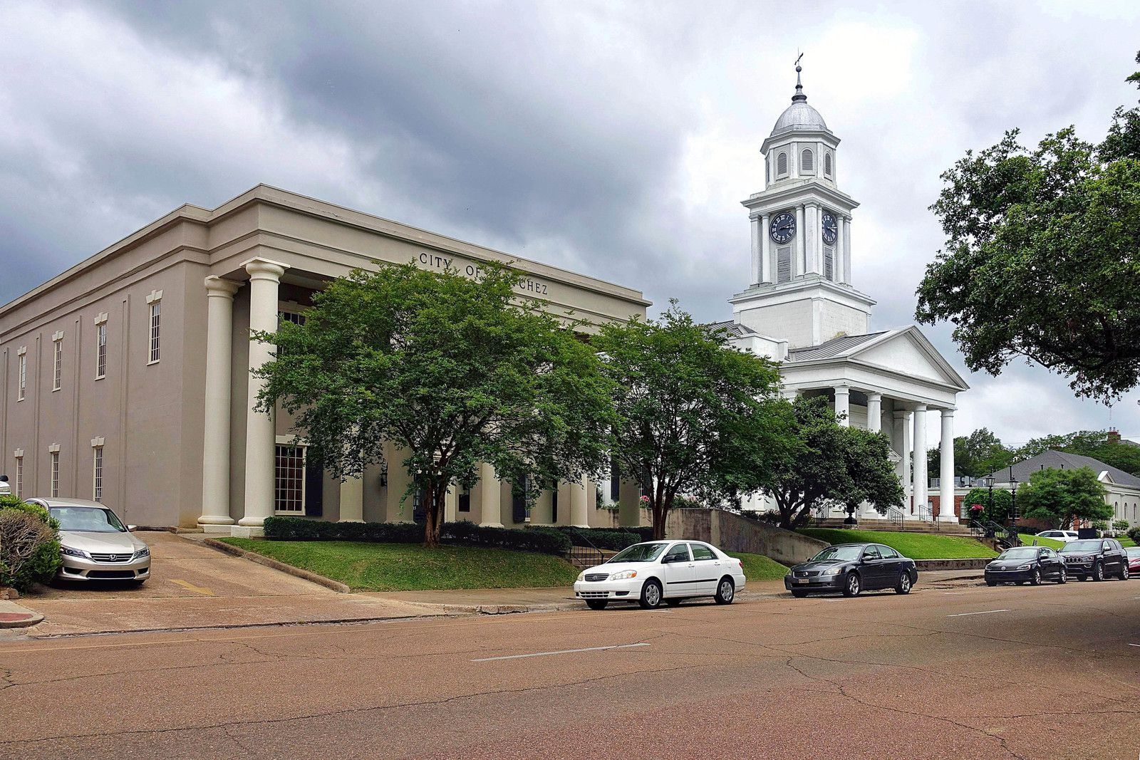 Natchez Council Chamber et First Presbyterian church