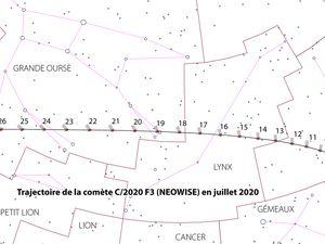 La comète Néowise