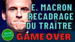 VIVRE SAINEMENT | Recadrage du traître (la marionnette qui a trahi la France et son peuple)