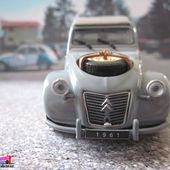 CITROEN 2CV 4X4 SAHARA 1961 UNIVERSAL HOBBIES 1/43 - car-collector