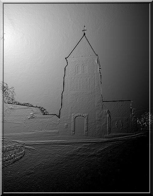 Diaporama église fortifiée de Lugny