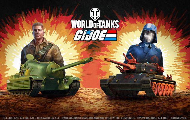 [ACTUALITE] World of Tanks - G.I. Joe débarque