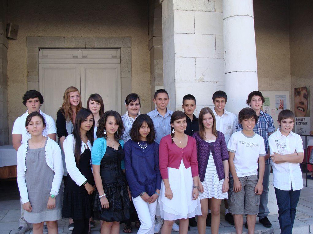 Album - Confirmation---28-mai-2011 des collèges Gabard et La Salle St Joseph Gan