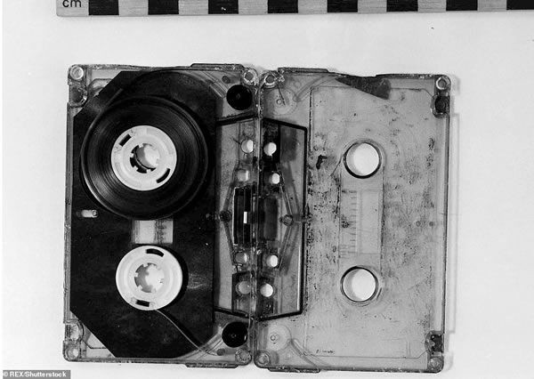The audio cassette tape sent to police made by John Humble, better known as 'Wearside Jack'