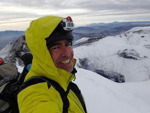 Sommet du Cotopaxi 5897 m