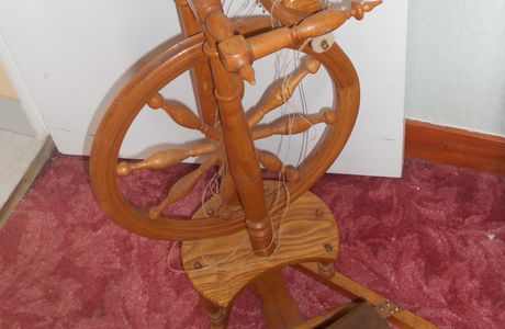 mon rouet !!!!!!!!!!!!!