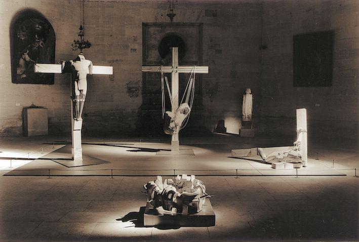 Crucifixion, descente de croix, Christian Oddoux