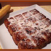Gâteau à la banane et chocolat - Oh, la gourmande..