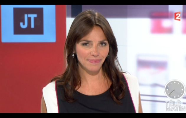 [2012 09 06] SOPHIE LE SAINT - FRANCE 2 - LE JOURNAL @07H30
