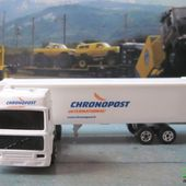 CAMION VOLVO CONTAINER CHRONOPOST INTERNATIONAL MAJORETTE 1/100 - car-collector.net