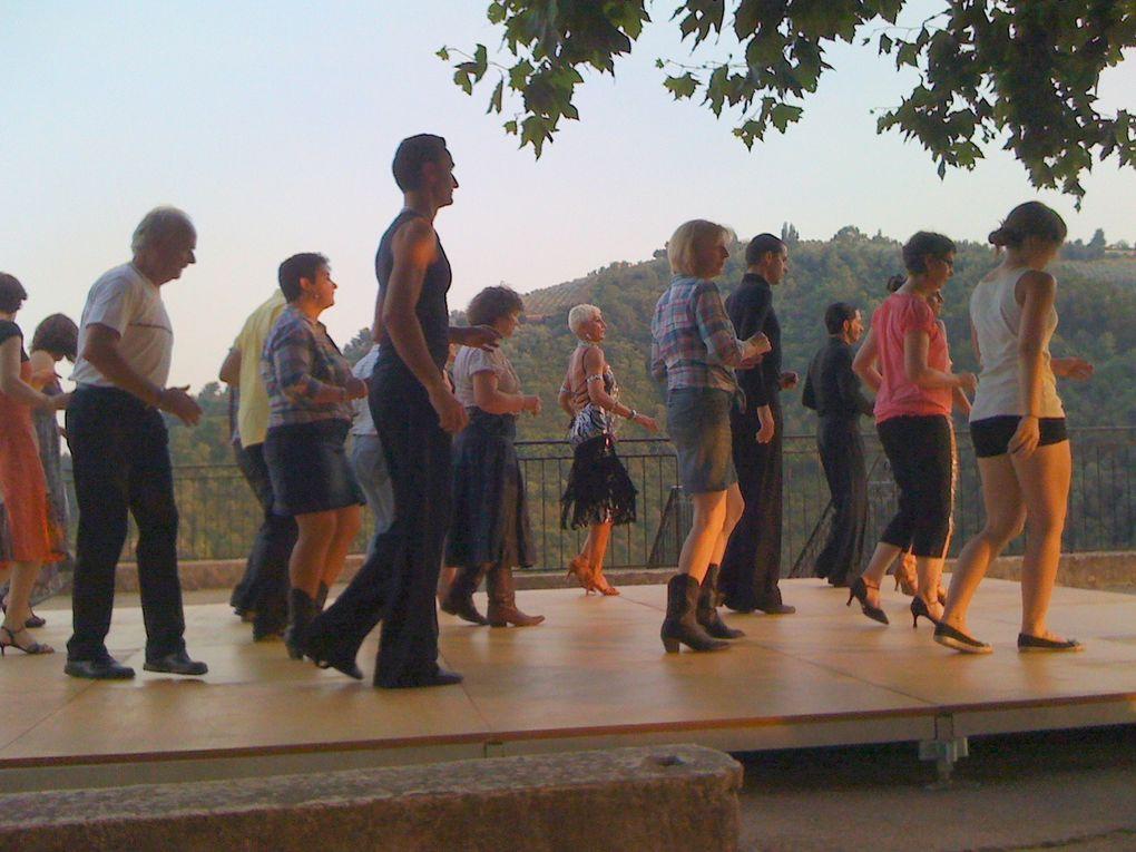 """Olivier et Muriel un enchantement de grâce et passion. Bravo ...... et merci à la Municipalité, aux danseurs et danseuses.   Si cela vous dit d'essayer """"d'évoluer sur scène comme eux"""" les cours de danse reprendront début septembre."""