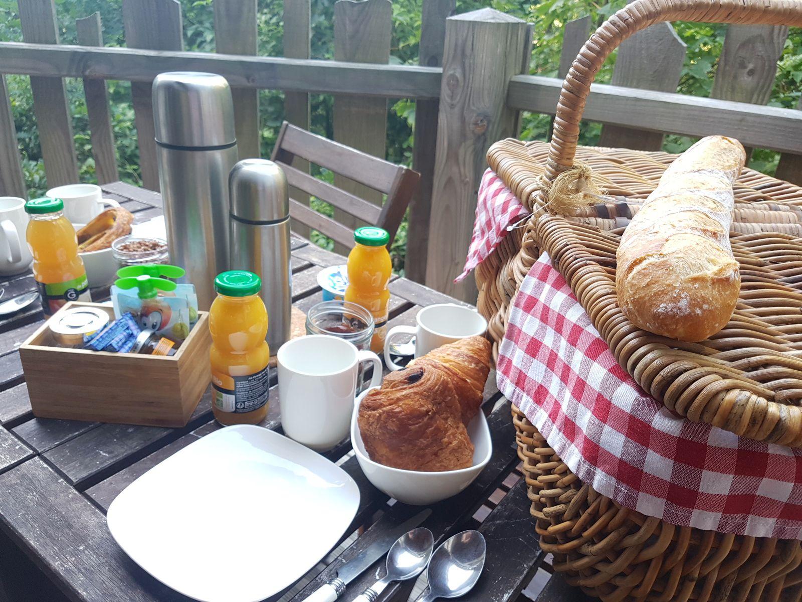petit-déjeuner Le Bois Rosoy