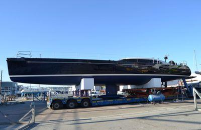 Nautisme : La mécanique propulseur du Shipman 72' assurée par Gourenez Nautic