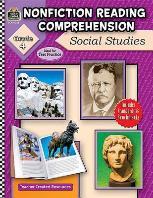 (ePub) DOWNLOAD FREE Nonfiction Reading Comprehension: Social Studies, Grade 4 By Ruth Foster Kindle Book