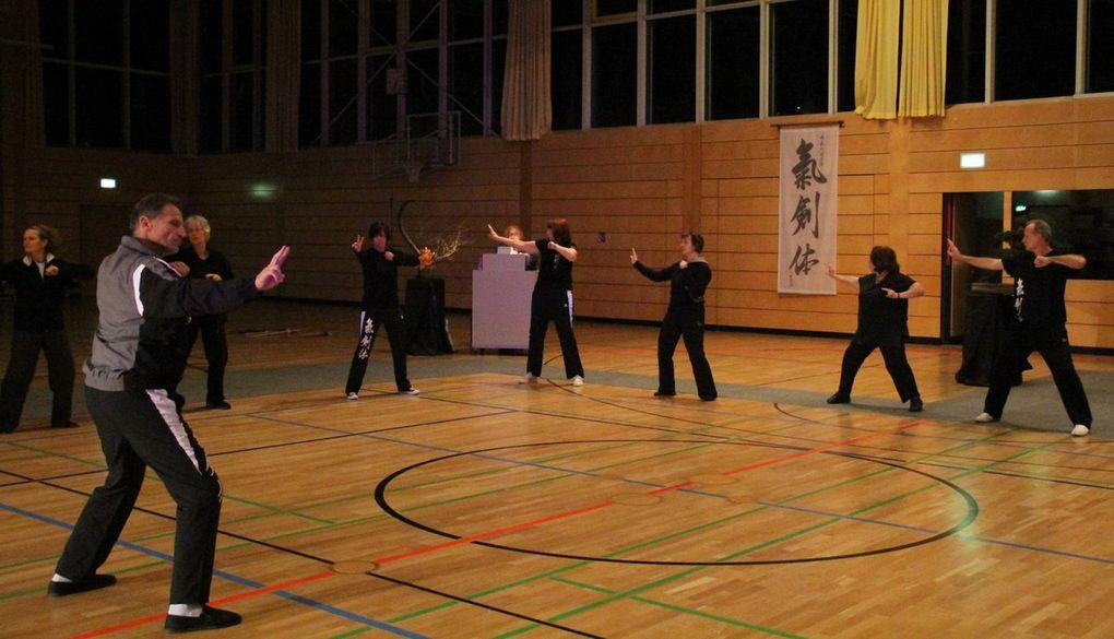 Fotos von der Tai Chi-Vorführung