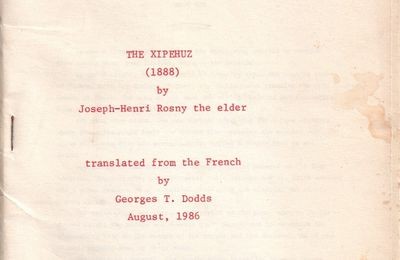 J.-H. Rosny aux USA : Georges T. Dodds (1986)