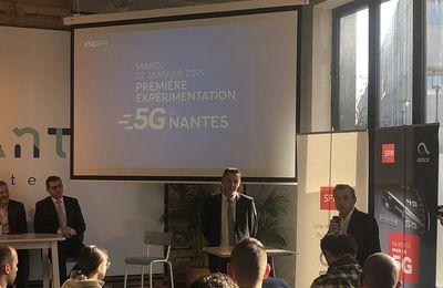 SFR s'allie à la SNCF pour tester la 5G à Nantes