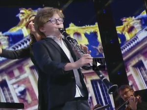 marin chapoutot; un jeune clarinettiste tourangeau impressionnant, issu d'une vraie famille de mélomanes