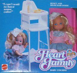 1984-1989 HEART FAMILY DOLLS