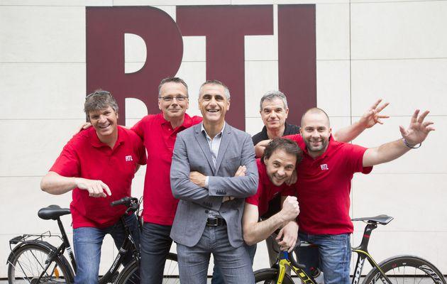 RTL sur la route du Tour de France 2015 du 04 au 26 Juillet