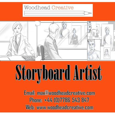 Storyboard Services by an Experienced Storyboard Artist in London
