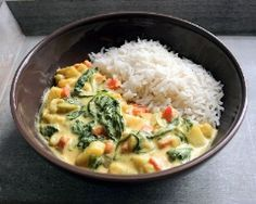 curry de légumes (vé