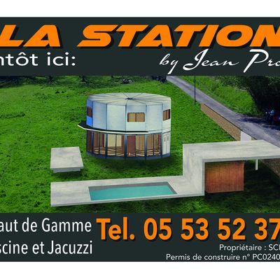 Station Total par Jean Prouvé