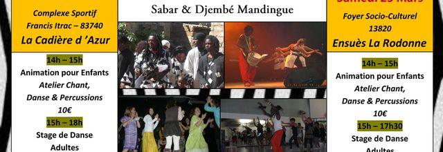 Mars 2013 - Ibou Sarr & Batou Ngalen Bi - Bouches du Rhône